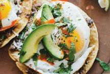 brunch recipes / Easy and healthy gluten free, vegan recipes for pancakes, waffles, scones, breakfast tacos, eggs, and more brunch food!