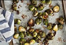 recipes for vegetable sides / Easy and quick recipes for asparagus, roasted brussel sprouts, and more vegetable side dishes!