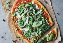 pizza recipes / Homemade, gluten free and vegan pizza recipes with healthy vegetable toppings!
