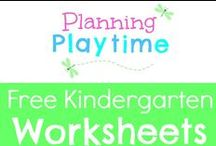 Free Kindergarten Worksheets / Free Kindergarten Worksheets. Printables for math, literacy, sight words, word families, addition, subtraction, counting, Halloween, Christmas, Spring and more. RULES: 1. Free items only. 2. Repin 1 for every pin you add. 3. Only 2 Pins per pinner per day. To join this board, message me at my store, https://www.teacherspayteachers.com/Store/Planning-Playtime. Pins that are a week+ old with no repins will be regularly deleted to keep this board relevant.