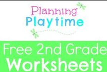 Free 2nd Grade Worksheets / Free 2nd Grade Worksheets. Printables for double digit addition and subtraction, fractions, regrouping, math, literacy, reading and comprehension, word problems and more. RULES: 1. Free items only. 2. Repin 1 for every pin you add. 3. Only 2 Pins per pinner per day. To join this board, message me at my store, https://www.teacherspayteachers.com/Store/Planning-Playtime. Pins that are a week+ old with no repins will be regularly deleted to keep this board relevant.