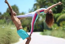 Acro Yoga / Couples Yoga or with a friend who's super strong.