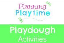Playdough Activities / Fun Playdough activities for kids. Playdough recipes. Playdough projects. Playdough ideas.