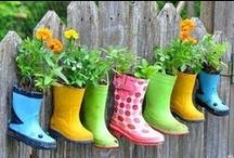 Reciclaje EcoBrotes / Grandes y pequeñas #ideas del #reciclaje para tu #jardín y #huertourbano que nos ofrece el mundo #Pinterest. www.ecobrotes.es