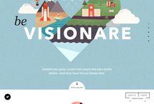 webdesign / Raccolta di ispirazione!