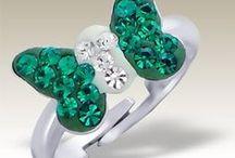 Children silver rings