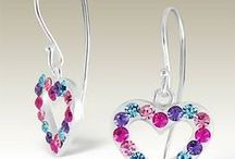 Crystal silver earrings / Silver earrings with crystals. Wholesale prices. http://www.elf925.com/Silver-Subcatalog/75-Crystal-Earrings.asp