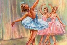 Dancing - Art