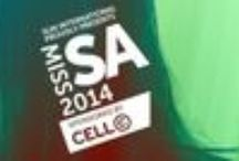 """Miss South Africa 2014 / """"As part of our on-going strategy to empower women, and in the line with our Believe Manifesto, Cell C has proudly been revealed as the new headline sponsor of The Miss South Africa pageant."""" - http://www.cellc.co.za/believe"""