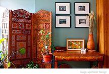 Indian inspired interior design