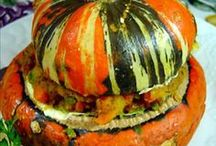 Recipes  / Recipes for cooking and baking with pumpkins and squash.