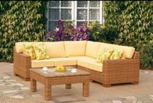 Spring is here! Let's Entertain Outdoors / Our new website dedicated out OUTDOOR WICKER AND PATIO furniture - http://www.americanwicker.com