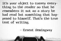 In Hemingway's words