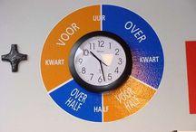 Klok kijken/tijd / Hoe moeilijk is het voor sommige kinderen om te leren. We proberen het leuk te houden.