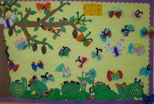 Lente rups > vlinder / Knutsels van rups tot vlinder.