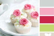 Kleur inspiratie / Mooie kleurtjes om mee te haken.