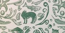 #Endpapers we love / It's an extra special treat to come across a book with beautiful, thoughtful endpapers.