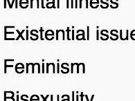 aes. bisexuality, anxiety and cheese pasta / I'm made of memes and anxiety