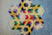 3D quilt blocks and quilts... / by Banu Abdusselamoglu