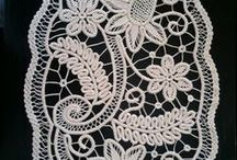 Romanian point lace, Bruges lace... / by Banu Abdusselamoglu