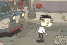 Comic, Underground Comic & Fanzine / All kind of Comic art pages