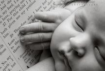 Newborn Photography / Photo shoot ideas for newborns and helpful hints and outfits and poses / by Lindy Medlin