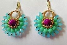 beads,earrings / kreative