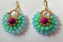 beads,earrings / kreative