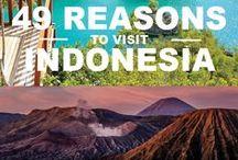 Indonesia / Banyak hal menarik di Indonesia. Harapanku, aku dapat berkeliling Indonesia suatu hari nanti. :*