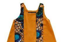 Robe, Estelle Bellin / Estelle Bellin Création Textile Ethnique Mode enfantine de 0 à 8 ans http://blog.estellebellin.com/