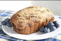 Blueberry Season / Homemade blueberry treats and fresh picked blueberries all July at family owned farm Trax Farms.
