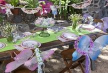 Woodland Fairy Birthday Party  / Host a magical birthday party for your Woodland Fairy in the Enchanted Forest