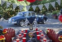 Racecar Birthday Party...Rev Your Engines!