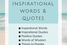 {Inspirational Words}