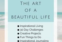 {The Art of a Beautiful Life} / Inspirational Blogger - Inspiring quotes, articles, and jewelry. Let's write on the wall of life that we were here. We came, gave, and loved with gratitude and joy and left it a better place.