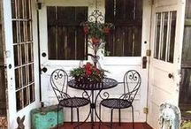 Doors / I never realized how versatile doors were until Construction Junction joined the Pinterest community. Just look at some of these beauties!
