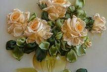 Látkové kytky
