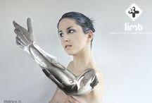 Prosthesis hand design / Inspiration from several designers on lower limb prosthetics