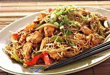 Recepty - asijská kuchyně