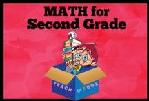 Math for Second Grade - Teach in a Box / Math resources for teaching Second Grade. Teach in a Box. Teaching resources made by Australian Teachers. To pin to this board, write to: paul@teachyourchildrenwell.com.au