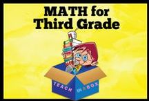 Math for Third Grade - Teach in a Box / Math resources for teaching Third Grade. Teach in a Box. Teaching resources made by Australian Teachers. To pin to this board, write to: paul@teachyourchildrenwell.com.au