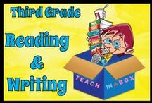 Reading and Writing for Third Grade / Reading and Writing resources for teaching Third Grade. Teach in a Box. Teaching resources made by Australian Teachers. To pin to this board, write to: paul@teachyourchildrenwell.com.au