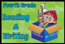 Reading and Writing for Fourth Grade / Reading and Writing resources for teaching Fourth Grade. Teach in a Box. Teaching resources made by Australian Teachers. To pin to this board, write to: paul@teachyourchildrenwell.com.au