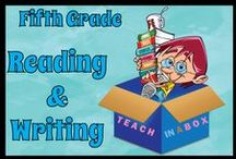 Reading and Writing for Fifth Grade / Reading and Writing resources for teaching Fifth Grade. Teach in a Box. Teaching resources made by Australian Teachers. To pin to this board, write to: paul@teachyourchildrenwell.com.au