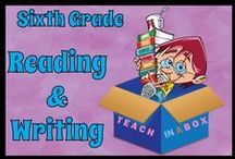 Reading and Writing for Sixth Grade / Reading and Writing resources for teaching Sixth Grade. Teach in a Box. Teaching resources made by Australian Teachers. To pin to this board, write to: paul@teachyourchildrenwell.com.au
