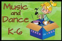 Music and Dance for K-6 / Music and Dance for K-6