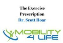 How to Avoid Injury and Improve Fitness / This is Dr. Scott Hoar of Mobility 4 Life Chiropractic and Sports Medicine, I'm here to share how to recover from sciatica, low back pain, shoulder pain and anything else that might be bothering you. For more check us out at www.Mobility-4Life.com