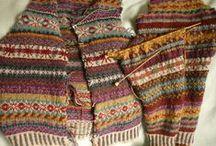 Oděvy pletené - norské vzory
