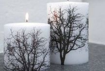 Nápady do domu - svíčky