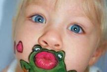 DIY facepaint / How to facepaint-DIY facepaint- for mums at birthday parties